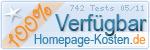 Auszeichnung von Homepage Kosten für Serververfügbarkeit