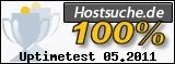 Auszeichnung Hostsuche für Serververfügbarkeit
