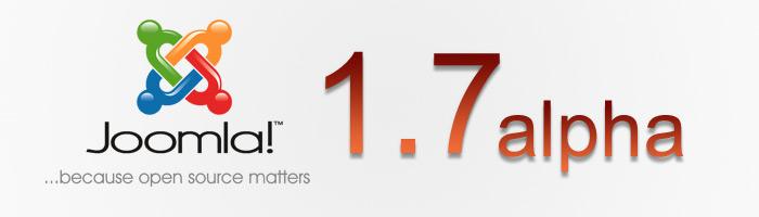 Joomla 1.7 Alpha veröffentlicht!