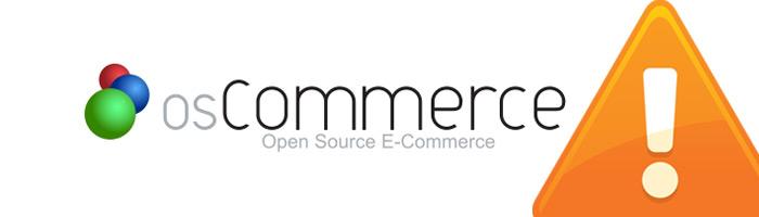 Sicherheitslücke im Shopsystem OS Commerce