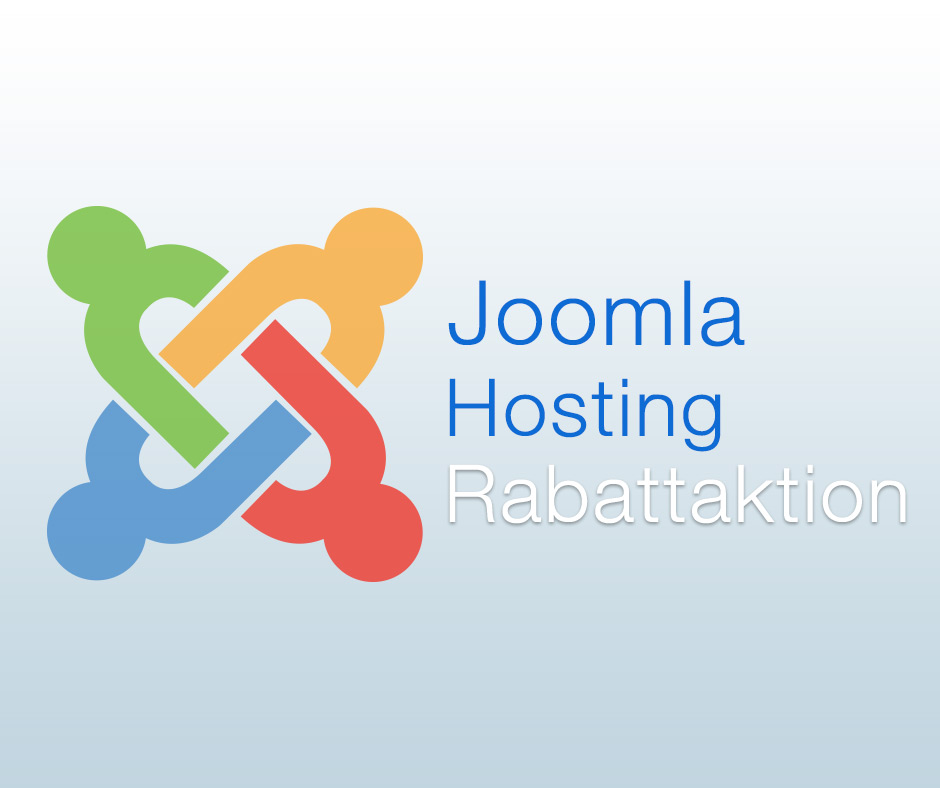 Joomla Hosting Rabatt