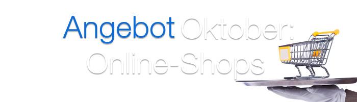 Unser Oktober Special: 10 Prozent Rabatt auf Online Shops