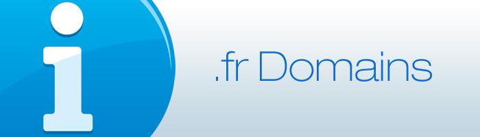 Änderungen der Richtlinien für FR Domains treten in Kraft