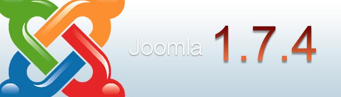 Joomla 1.7.4 ist erschienen