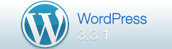 WordPress 3.3.1 veröffentlicht