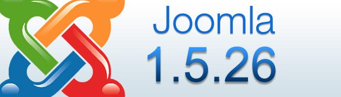 Joomla 1.5.26 als Sicherheitsrelease veröffentlicht