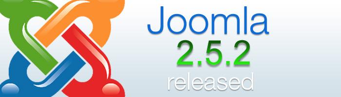 Joomla CMS 2.5.2 ist da