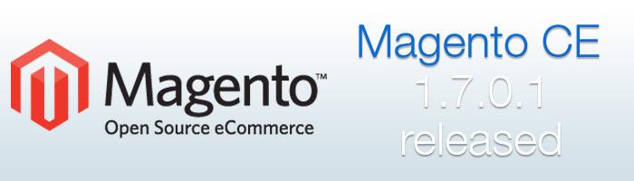 Magento CE 1.7.0.1 Update