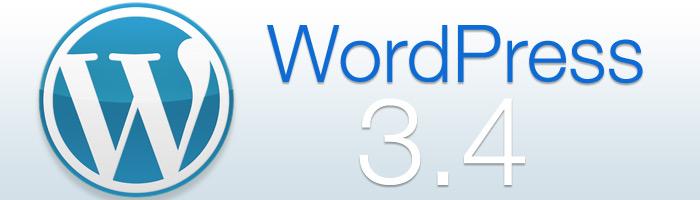 WordPress 3.4 mit vielen Neuerungen erschienen