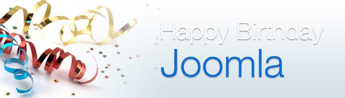 Zum Joomla Jahrestag gibt es 10 Prozent auf alle Joomla Hosting Pakete.