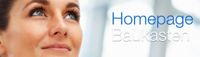 Mit dem Homepage Baukasten professionelle Webseiten noch einfacher und schneller gestalten