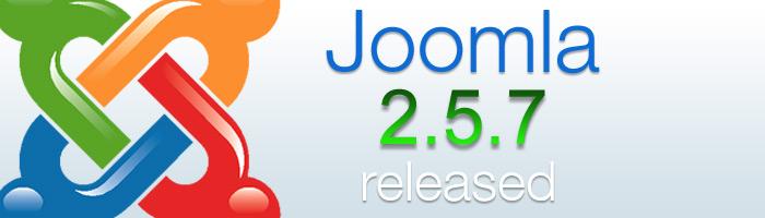 Joomla 2.5.7 beseitigt Sicherheitslücken