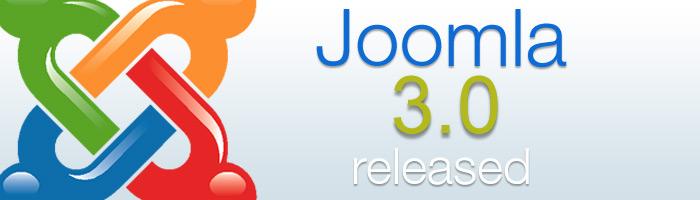 Joomla Update 3.0 ist da