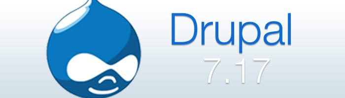 Drupal Update beseitigt zahlreiche Bugs. Ein Update für produktive Websites wird empfohlen.
