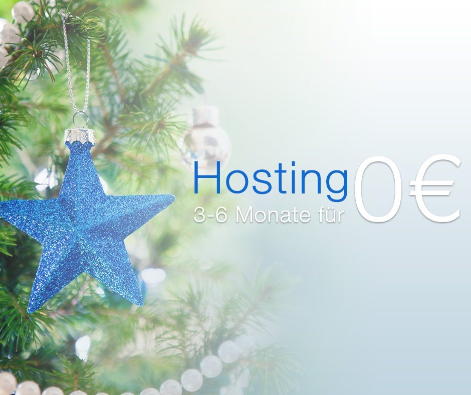 DM Solutions bietet Webhosting kostenlos in der Vorweihnachtszeit.