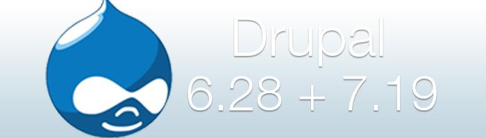 Drupal Updates sind erschienen und beseitigen Sicherheitslücken im System