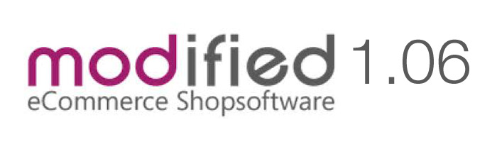 Modiefied eCommerce Shopsoftware Update erschienen