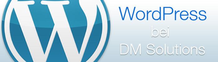 WordPress bei DM Solutions nutzen und profitieren