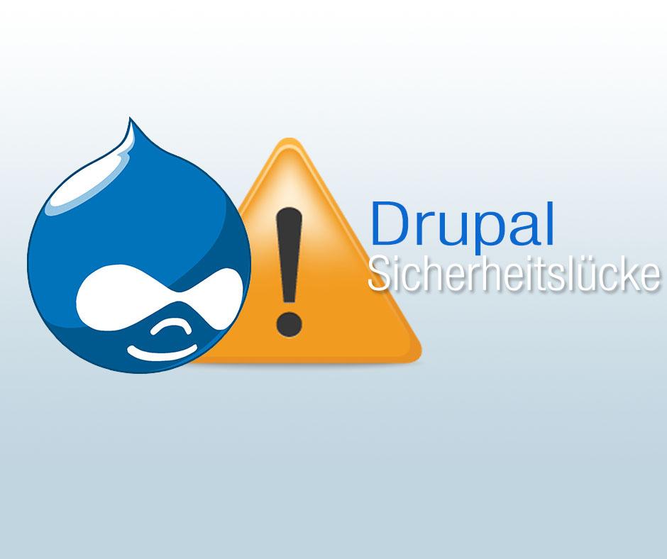 Drupal Sicherheitslücke behoben