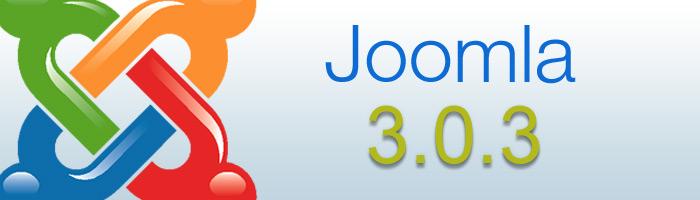 Joomla 3.0.3 bringt neue Funktionen mit sich.