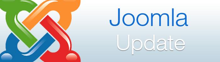 Neue Joomla Updates wurden veröffentlicht.