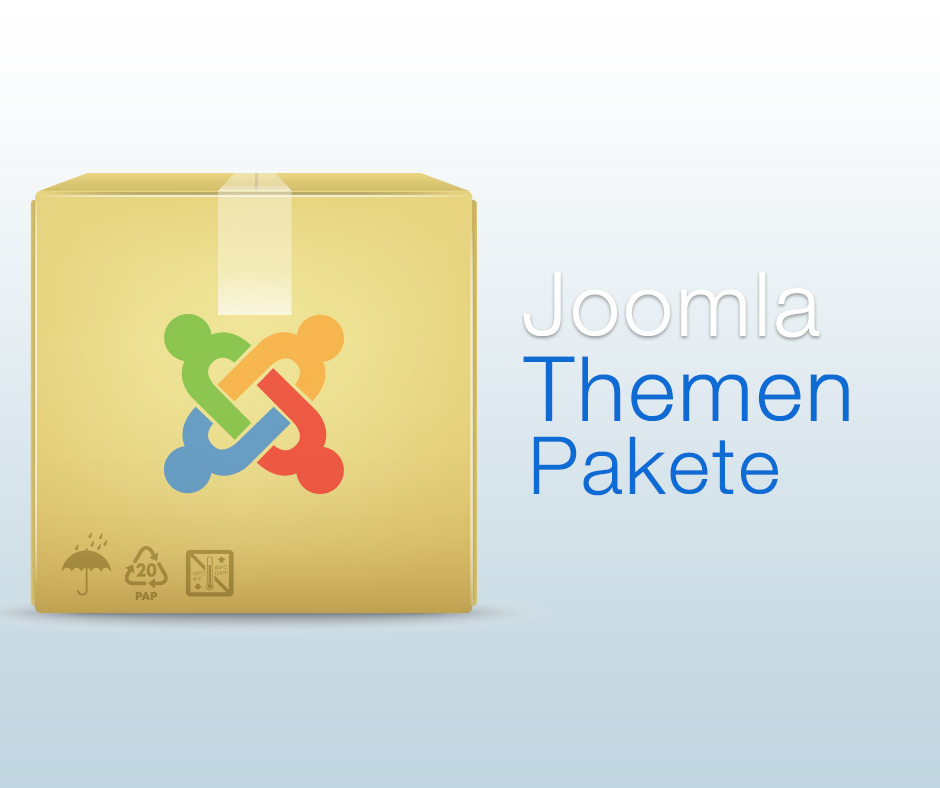Joomla Themen Pakete mit Joomal 2.5