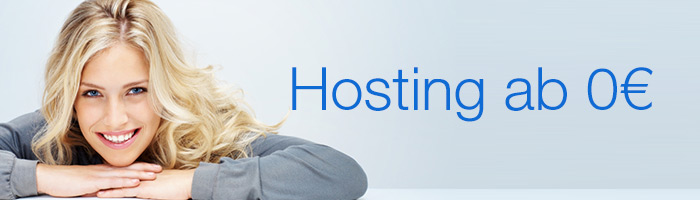 Monataktion - Webhosting kostenlos abstauben und 6 Monate lang die Grundgebühr sparen