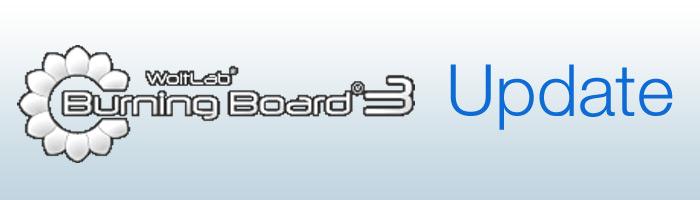 Burning Board Update veröffentlicht