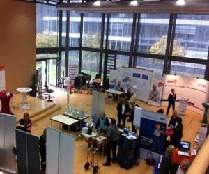 Business Tag 2013 im Kreis Offenbach - Aufbau und Vorbereitungen