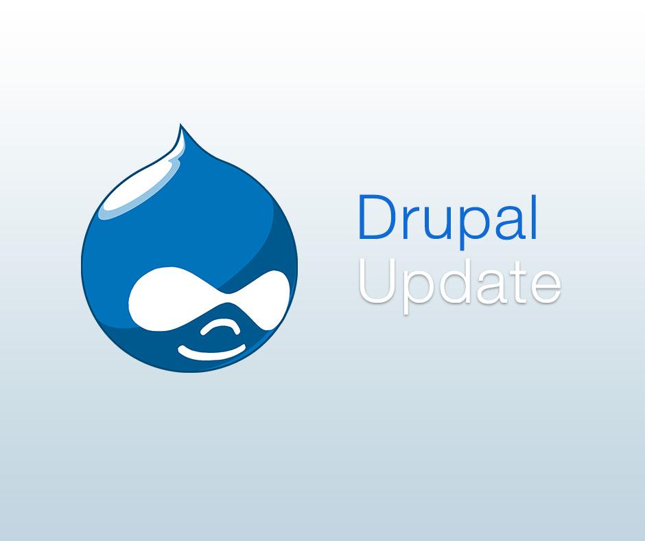 Drupal Update erschienen
