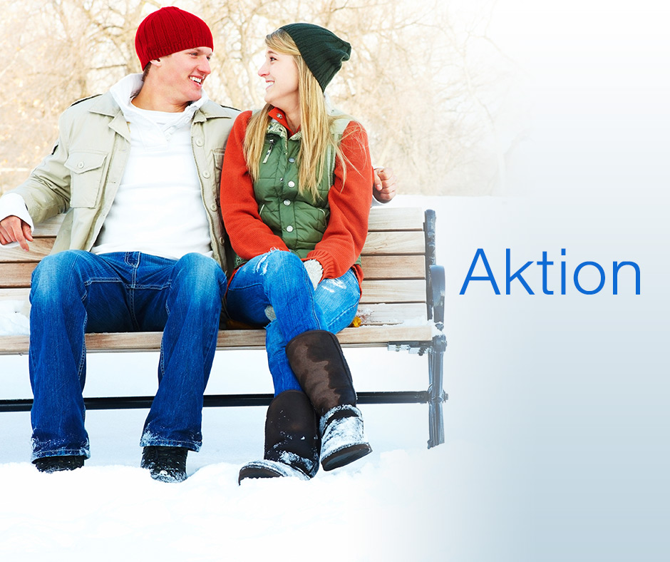 Aktion im Winter