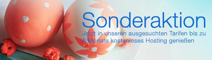 Webhosting kostenlos zu Ostern