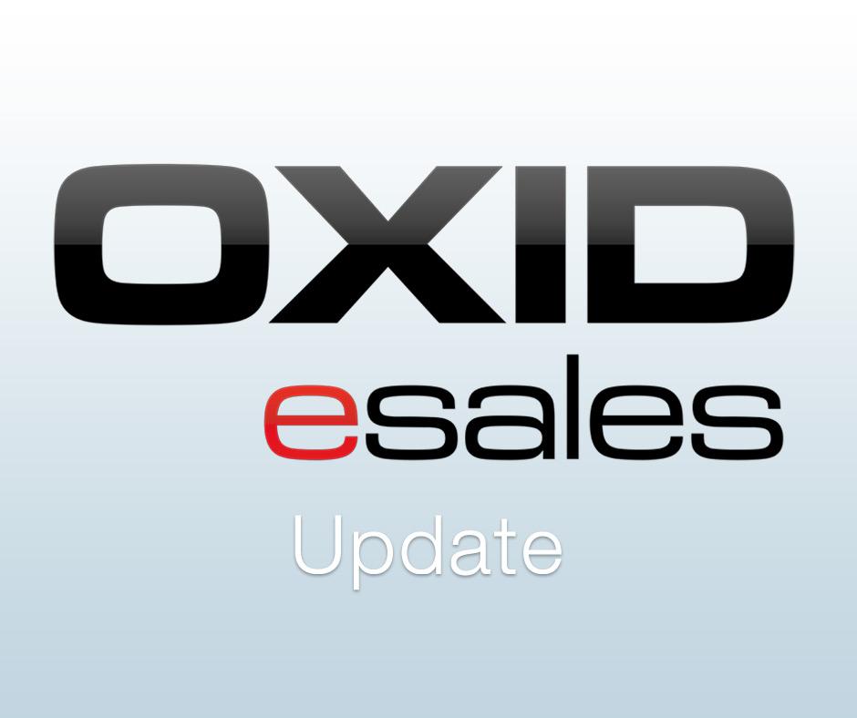 Neue Oxid Updates veröffentlicht