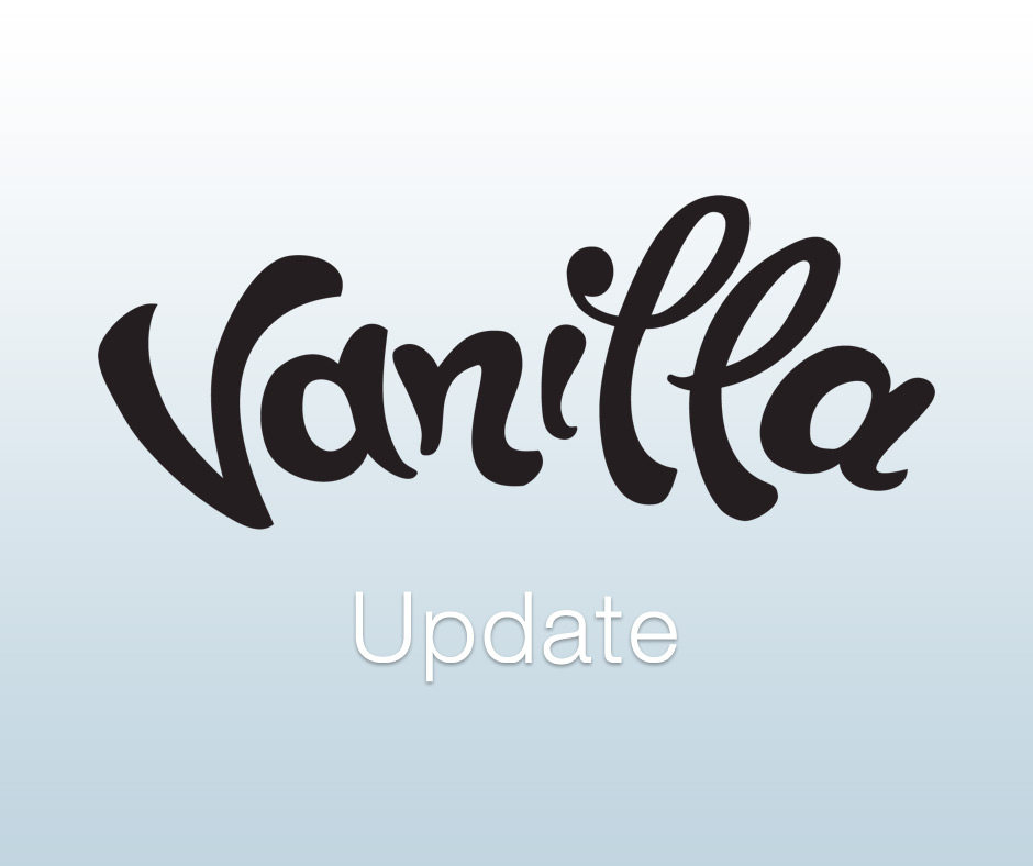 Vanilla Forum Update