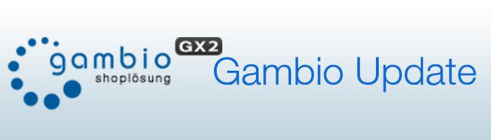 Gambio Update
