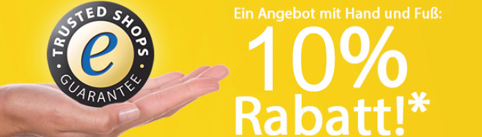 10 Prozent Rabatt auf Trusted Shops Performance Paket