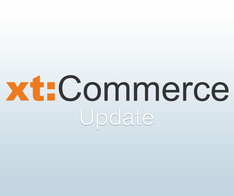 Neues xtComemrce Update mit neuen Funktionen und Bugfixes