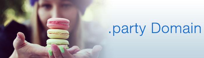 party Domain schnell und günstig registrieren