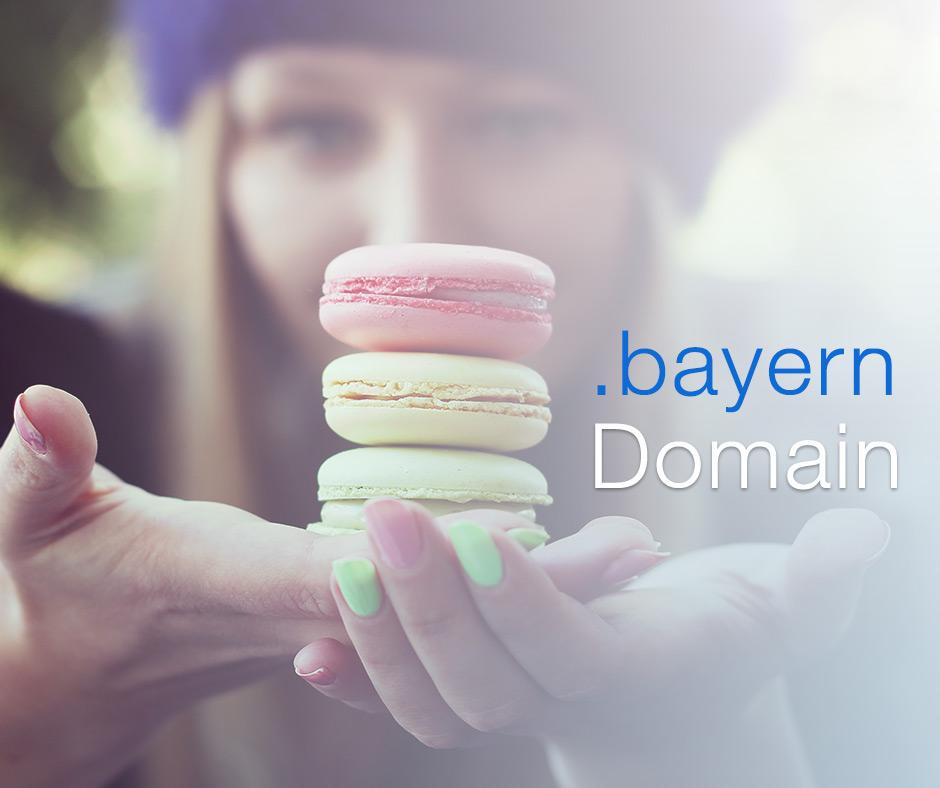 Registrieren Sie Ihre eigene .bayern Domain schon ab 3,99€ pro Monat