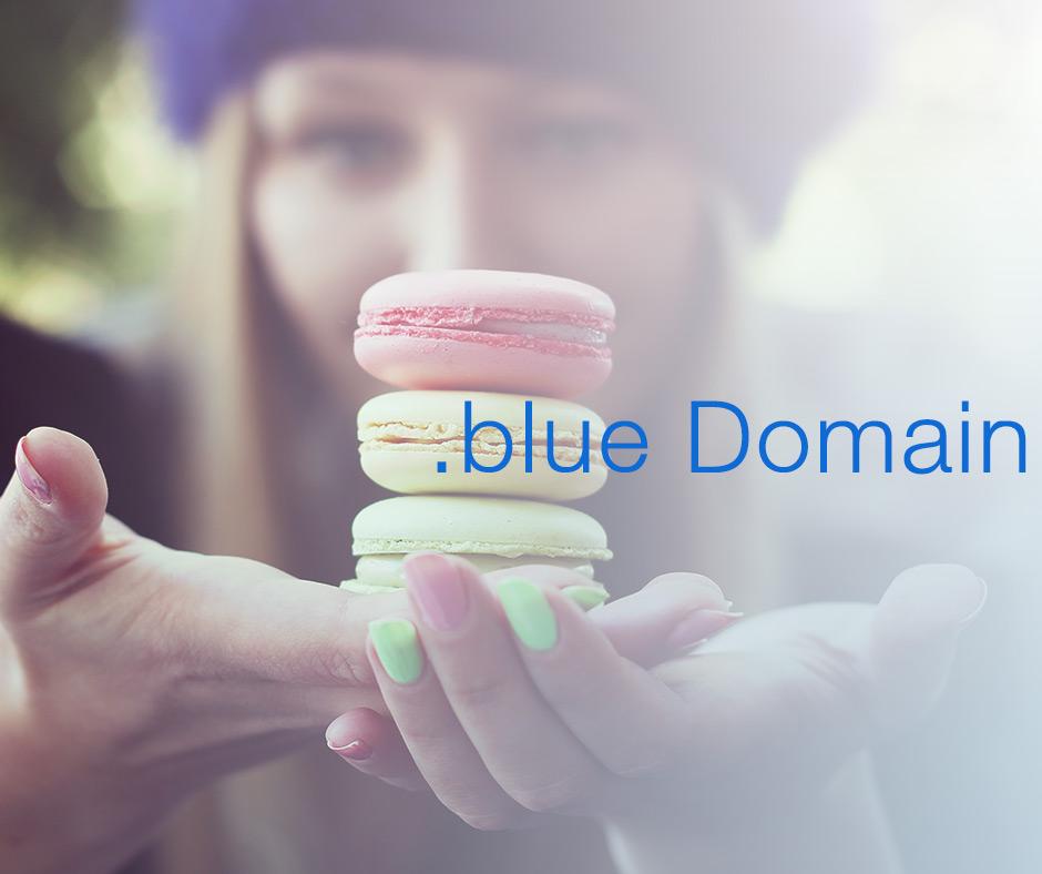 Bringen Sie mehr Farbe ins World Wide Web mit .blue Domains