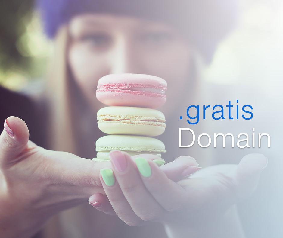 .gratis Domain günstig registrieren