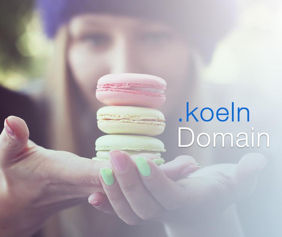 Eigene koeln Domain schon ab 1,49€ registrieren