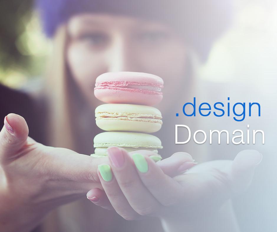 Bringen Sie Ihre Kreativität mit passender .design Domain zum Audruck
