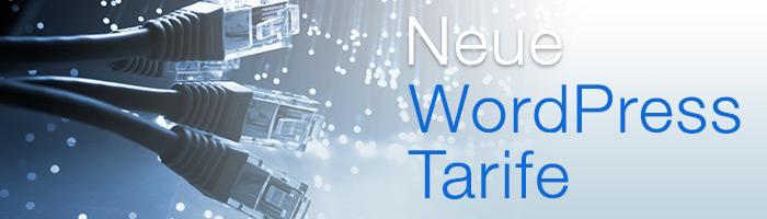 Neue und verbesserte WordPress Hosting Pakete sind online