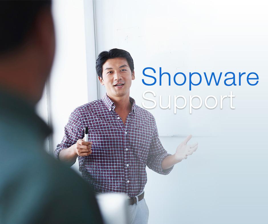 Mit dem Shopware Support gehören Shopware Probleme der Vergangenheit an