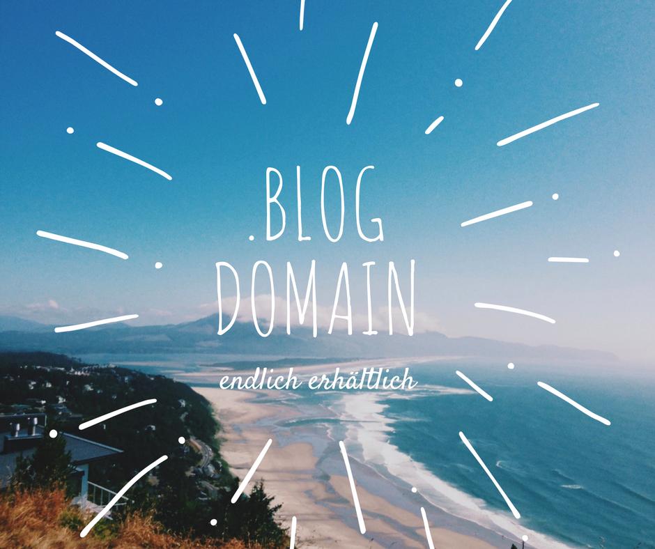 . blog Domain ist endlich verfügbar