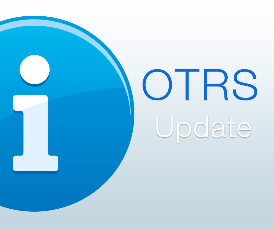 OTRS Updatet beide Versionen