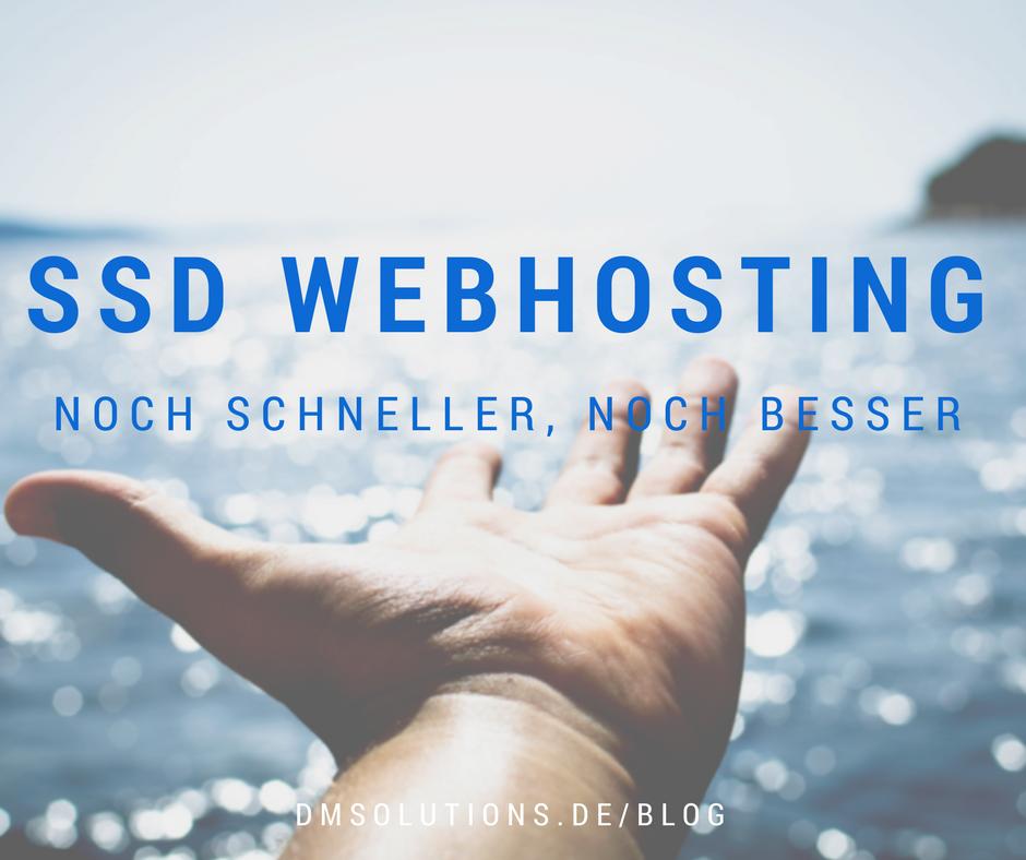 Neue SSD Webhosting Tarife - gleich entdecken!