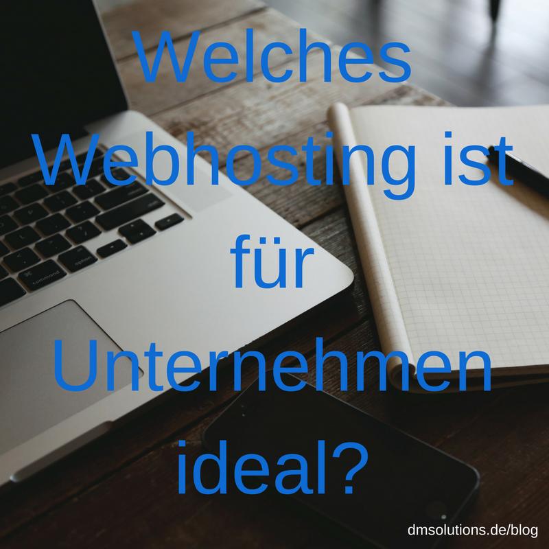 Webhosting für Unternehmen - Webspace, Server und Co.