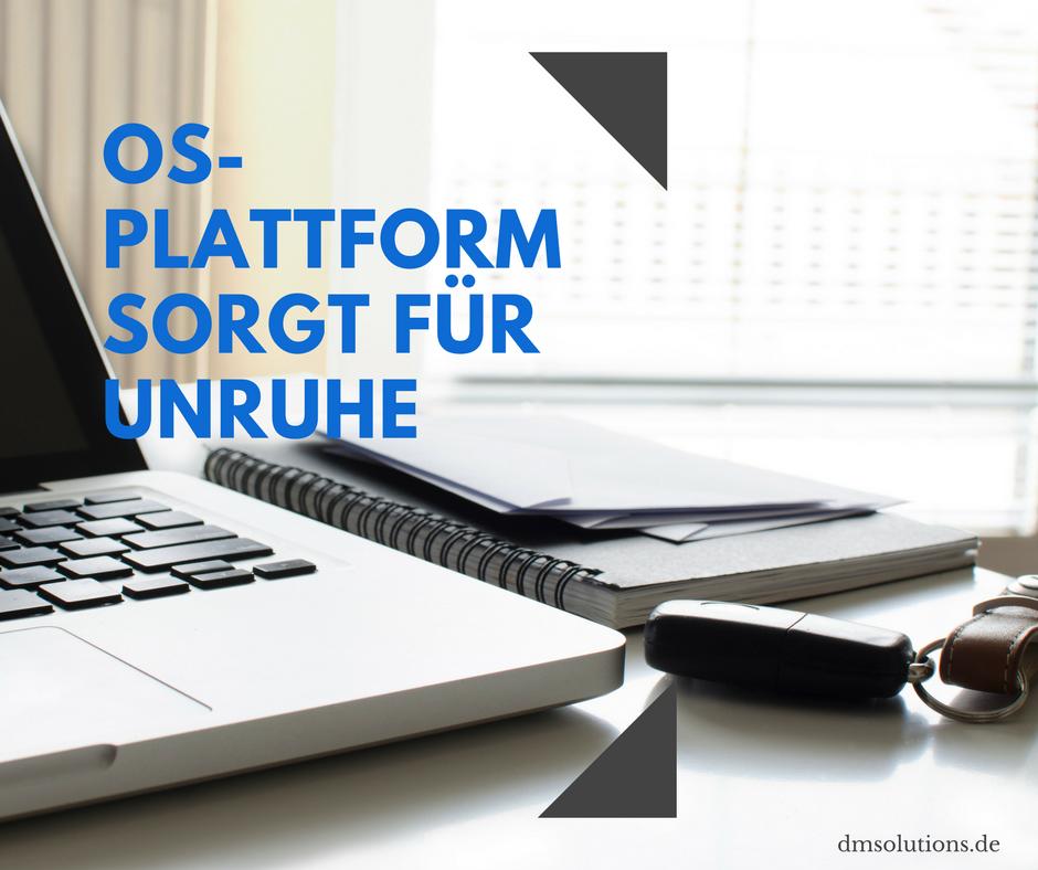 Stimmt Ihr Link zur OS-Plattform noch?
